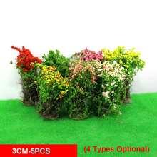 Mini Flower Clusters Miniature Model Sand Table DIY Modelling Materials Model Scene Terrain Production Simulation Flower