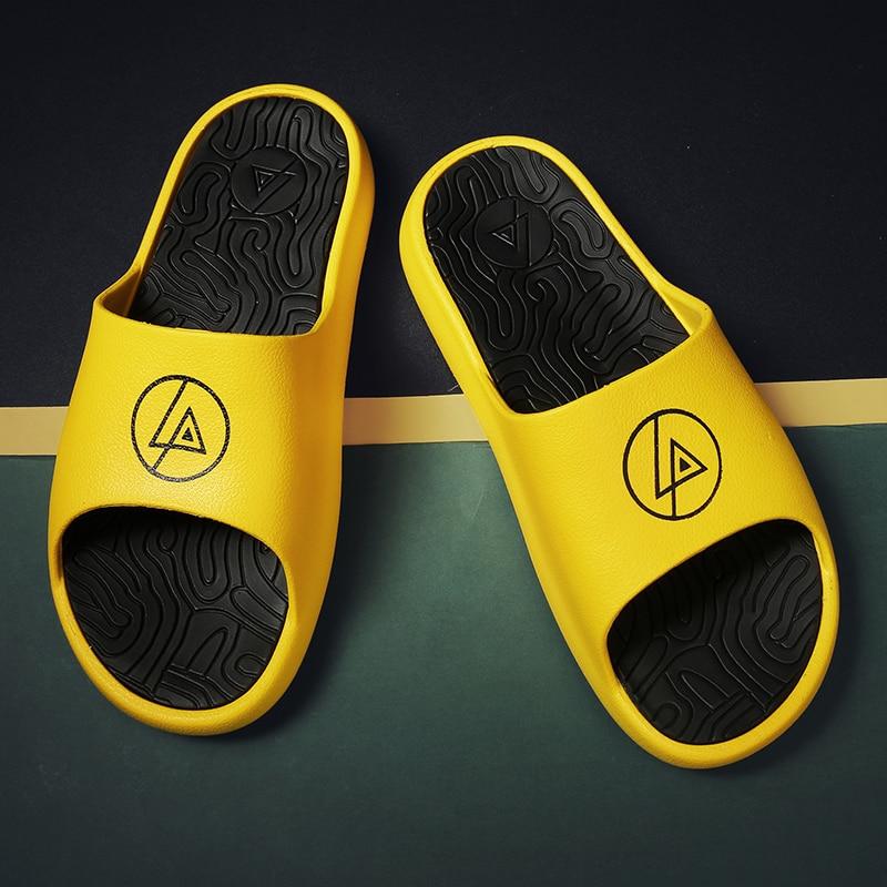 YEINSHAARS-Zapatillas antideslizantes para hombre, chanclas de EVA para la playa al aire...
