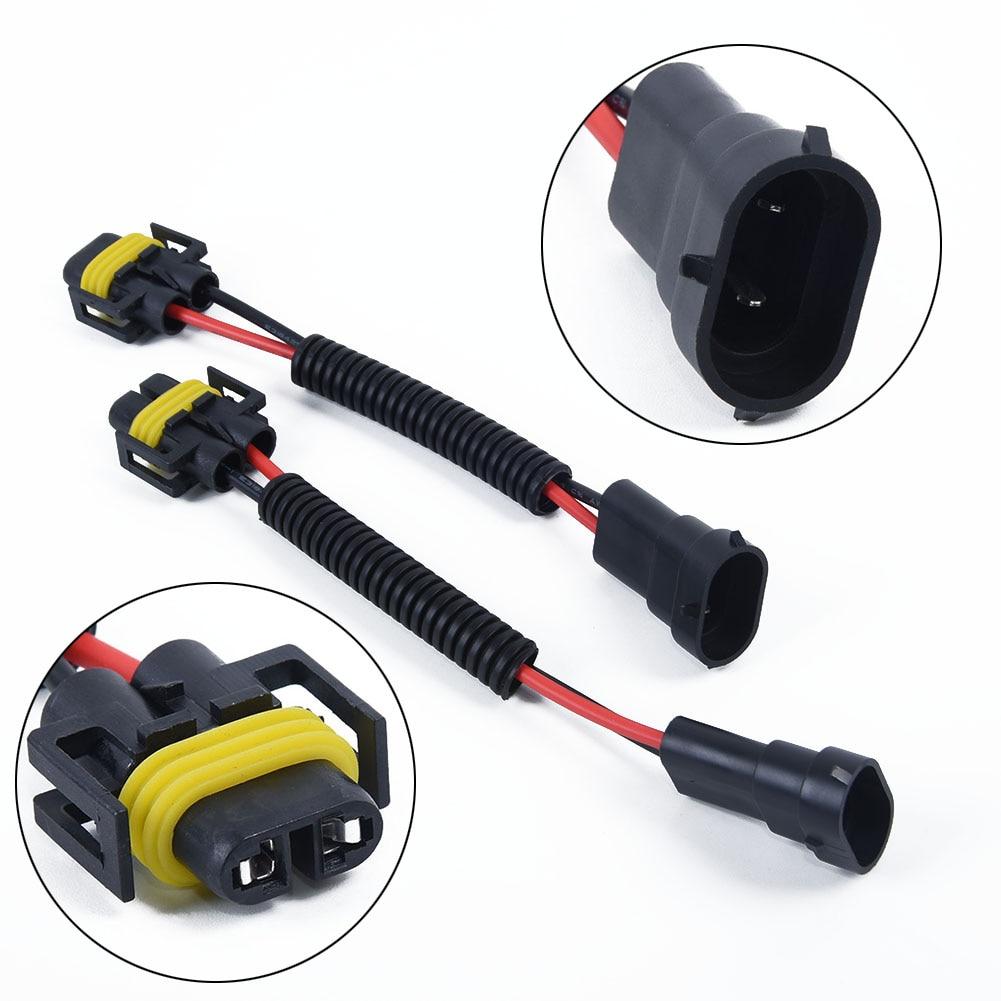 Prises harnais adaptateur câblage mâle femelle H11 H8 H9 phares Kit antibrouillard ensemble Extension