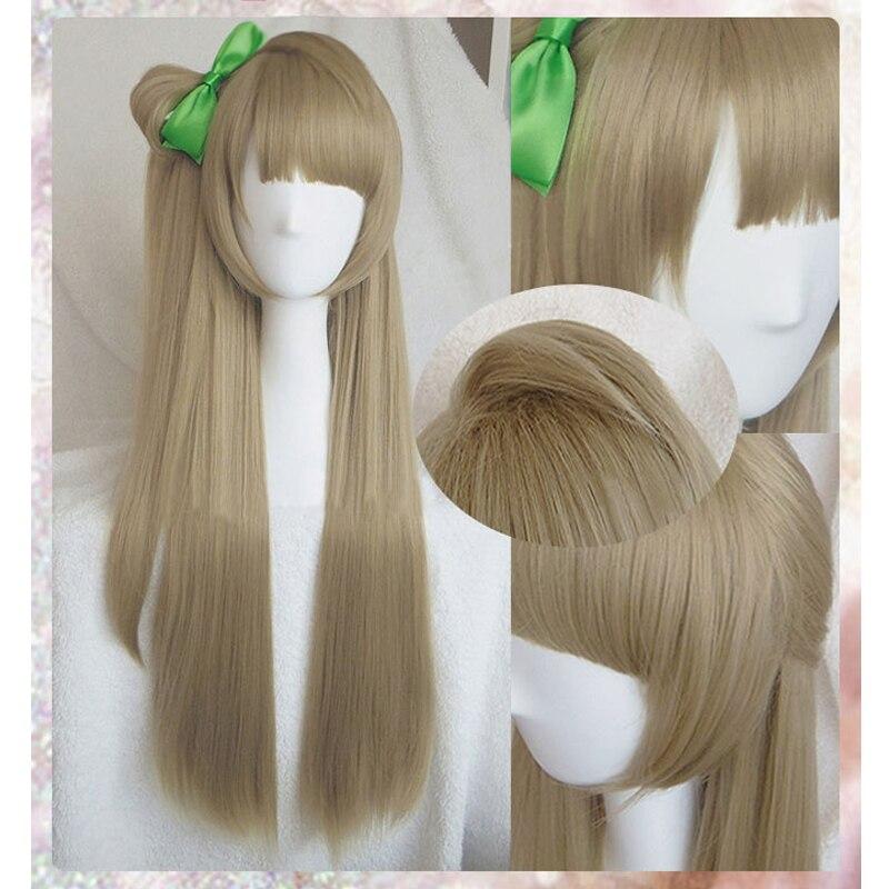 Anime de haute qualité LoveLive! Amour vivre Kotori Minami perruque Halloween cheveux Cosplay Costume perruques + épingle à cheveux vert