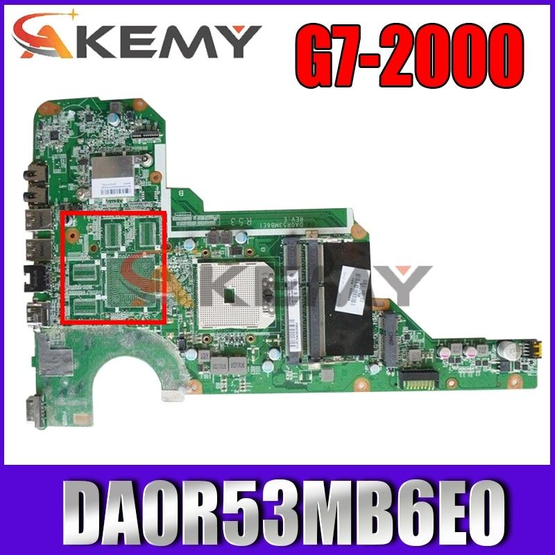 Placa-mãe do Portátil para hp Akemy Paillion Mainboard 683029-001 683029-501 Da0r53mb6e0 g4 g6 G7-2000