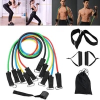 sport equipment high quality fitness resistance bands tubes yoga pull rope gum workout exercise bands gym sport rubber expander