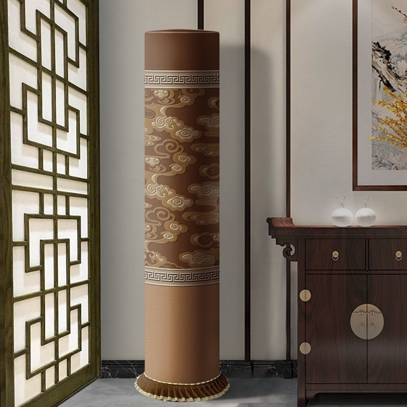 AUX Chinese auspicious air conditioning cloth dust cover auspicious decoration waterproof cleaning cover enlarge