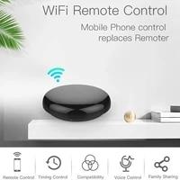 Telecommande sans fil a infrarouge pour maison connectee  wi-fi  controle IR  application Tuya  commande vocale  fonctionne avec Alexa et Google Home