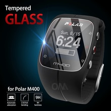 5Pcs 9H Premium Tempered Glass For Polar M400 smart watch Screen Protector Film Accessories