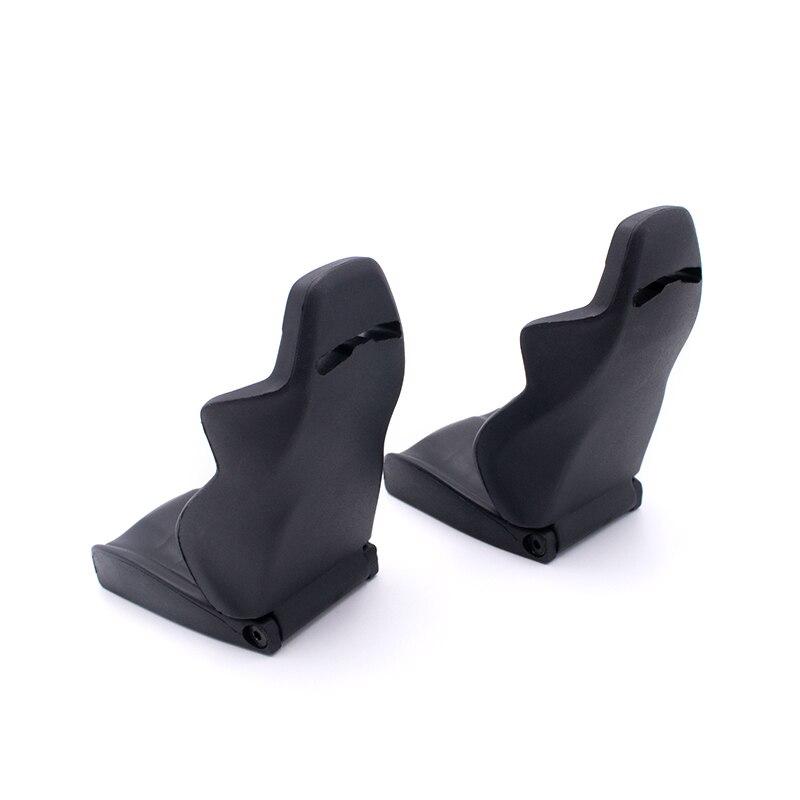 For 1/10 RC car TRAXXAS TRX4 TRX6 Wraith 2pcs simulation seat climbing car DIY cab multi-directional adjustable interior seat enlarge