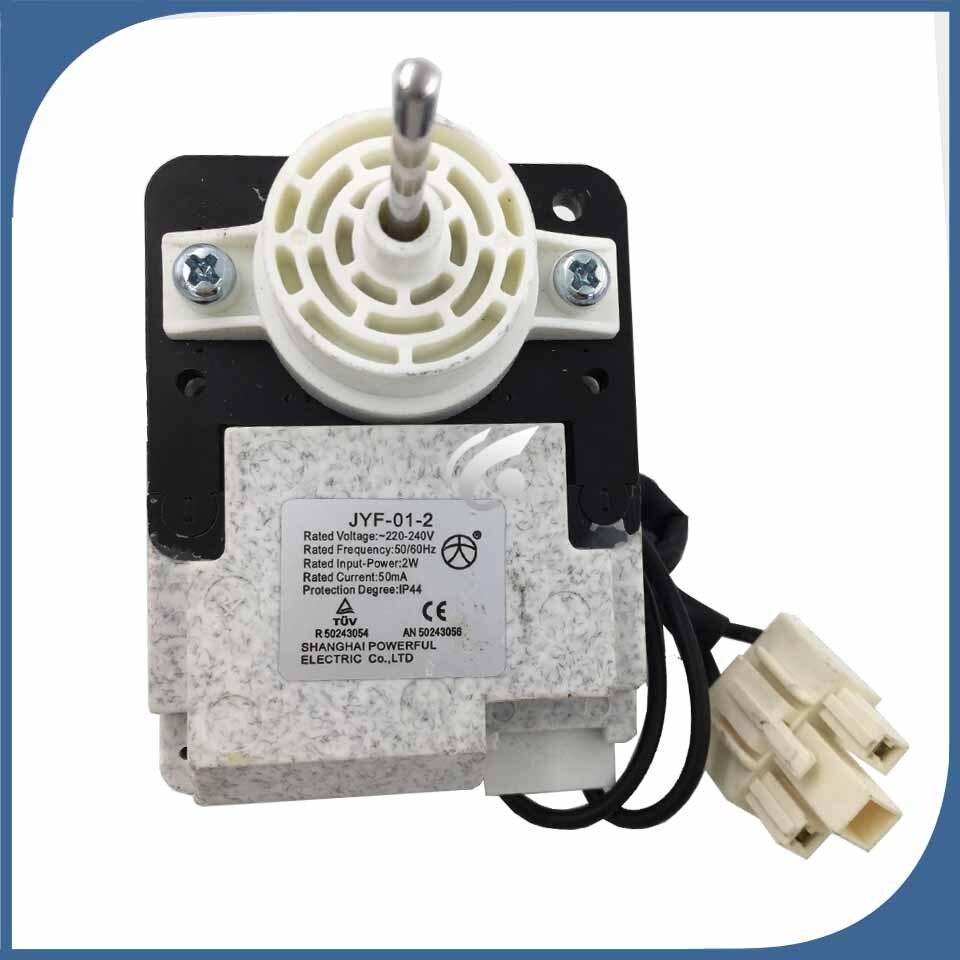 Nuevo para refrigerador, congelador, JYF-01-2, motor de ventilador de refrigerador, buen trabajo