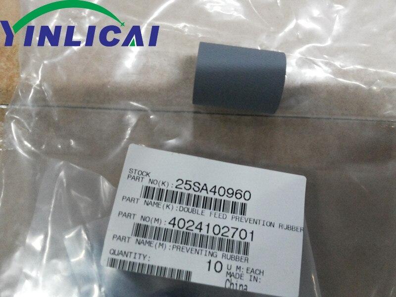 30 قطعة 4024102701 25SA40960 مزدوجة تغذية الوقاية الأسطوانة ل كونيكا مينولتا bizhub 600 601 750 751 C500 C5500 C5501 C6500 C6501