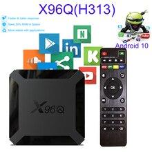 X96Q H313 Android 10 TV Box 2GB 16GB 4K H.265 Google Player Youtube Netflix support iptv dazn subscription X96Q Set Top Box