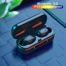 Wireless Headphone V8 TWS Bluetooth 5.0 Earphones 9D Bass Stereo Waterproof Earbuds Bluetooth Headse