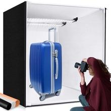 M80II boîte lumineuse 80cm Studio boîte Softbox pliable photographie Lightbox avec panneau lumineux pour Photo bijoux jouet produit Shoot