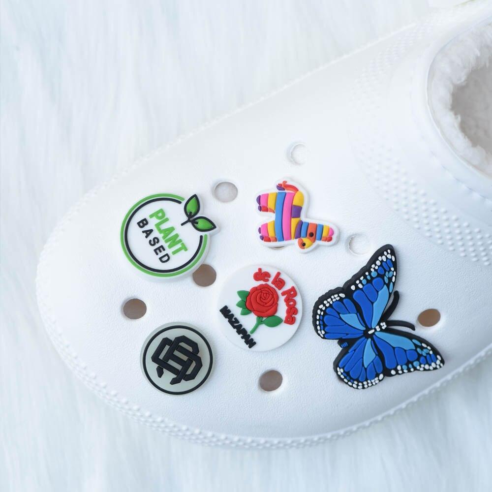 Wholesale Custom Shoes Charms 100/200/300/500/1000 pcs Designer Personaliaed Shoe Decoration Accessories