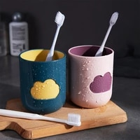 simple cloud washing cup household plastic toothbrush cup creative cute toothbrush holder couples students universal cups