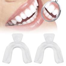 2 pièces protège-dents dentaire professionnel plateaux de blanchiment des dents adultes blanchiment des dents blanchisseur de dents