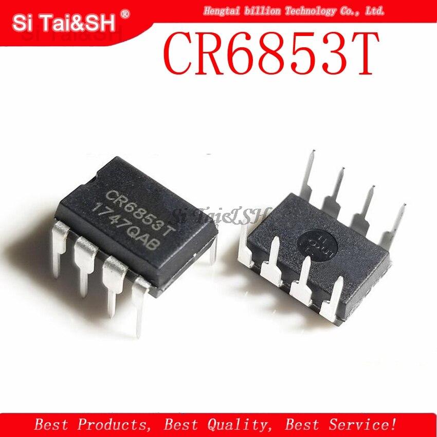10PCS CR6853T CR6853 DIP8 DIP novo original