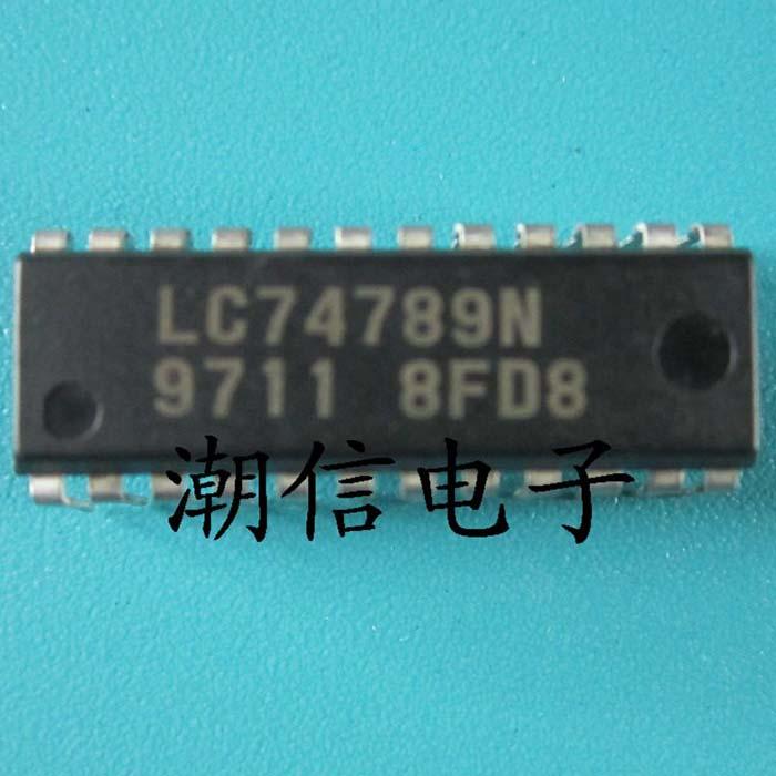 10cps LC74789N DIP-24
