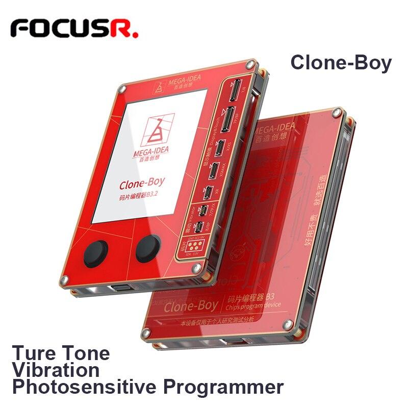 QianLi Tools Mega-Idea Clone Boy LCD Screen True Tone Vibration EEPROM Photosensitive Repair Programmer For iPhone 7 8 XR XS Max