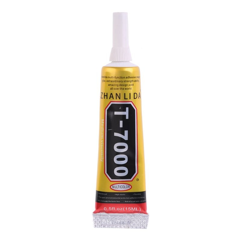 T-7000 15ml 50ml Super Adhesivo epoxi resina pegamento reparación grietas sellador de Marcos