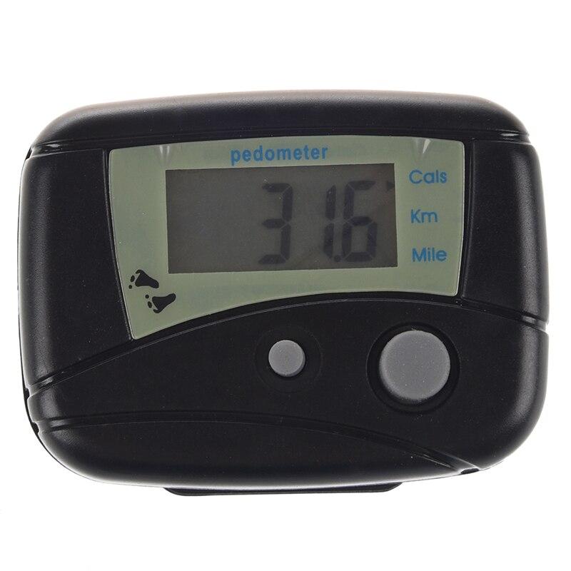LCD Run Step contador de calorías Digital electrónico contador de calorías al caminar distancia nuevo