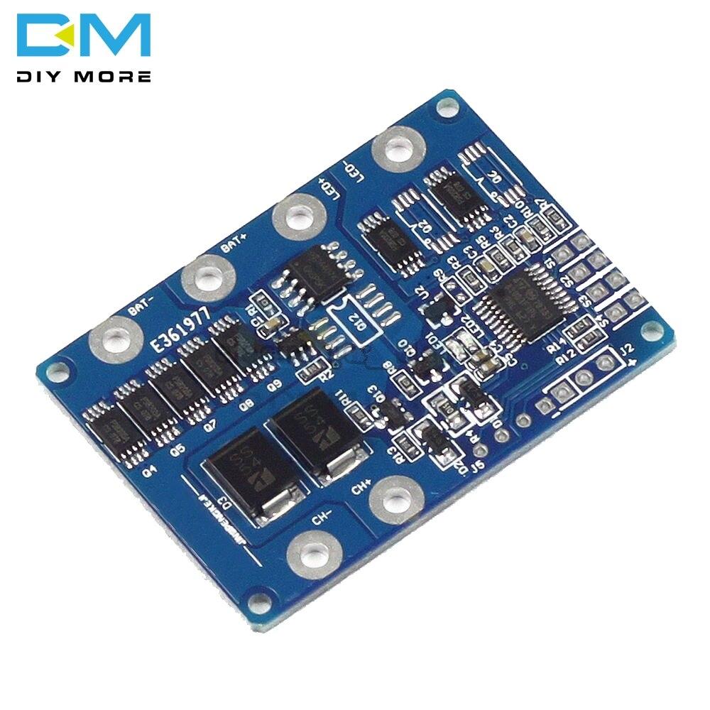 1 Uds 20W Panel Solar de la batería de litio de Control de iluminación Diy Kit de módulo de placa PCB 3,7 V a 6V