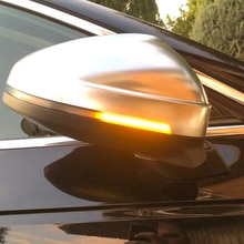 Für Audi A4 S4 RS4 B9 2016-2019 A5 S5 RS5 Dynamische Blinker LED Licht Seite Flügel Rück spiegel Anzeige Sequentielle Blinker