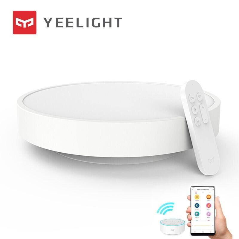 Yeelight ضوء السقف الذكية LED سطوع قابل للتعديل صوت التحكم الذكي العمل مع أبل Homekit 320 نسخة مطورة