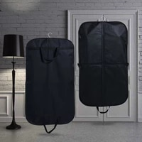 travel waterproof clothes organizer pouch portable suit dust cover home coat wardrobe hanging bag men business accessories items