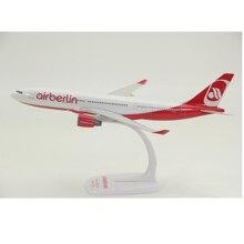 30CM avions Air Berlin Airbus A330 modèle résine moulé sous pression avion affichage à collectionner