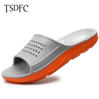 men slippers casual black gray shoes plus size 46 47 non slip slides bathroom summer beach sandals eva soft sole flip flops man