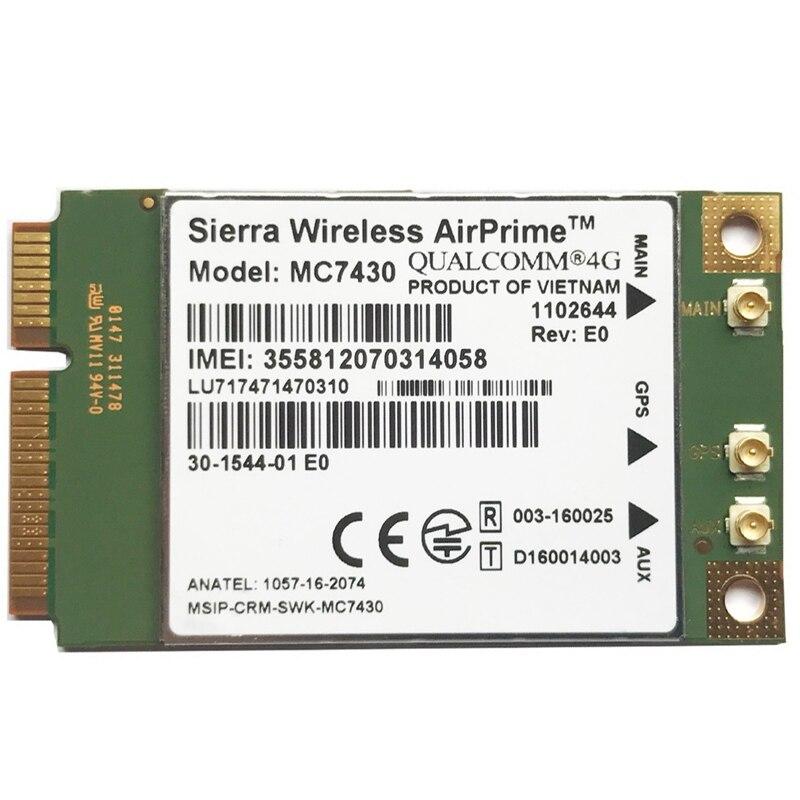hot mc7430 lte 4g modulo fdd lte tdd lte cat6 hspa gnss wwan cartao usb 30 mbim interface 4g cartao