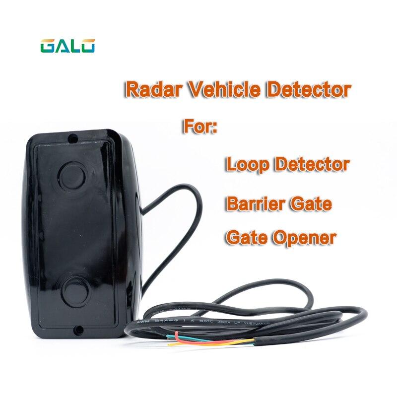 Уличный водонепроницаемый ИК-радар, Автомобильный датчик, инфракрасный радар, Сменный датчик фотоэлементов для системы открытия парковки