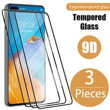 3 шт. закаленное стекло для Huawei P30 P20 P40 Lite P20 P30 экран стекло для Huawei P20 Pro Mate 20 10 30 Lite P50 P Smart Z 2019