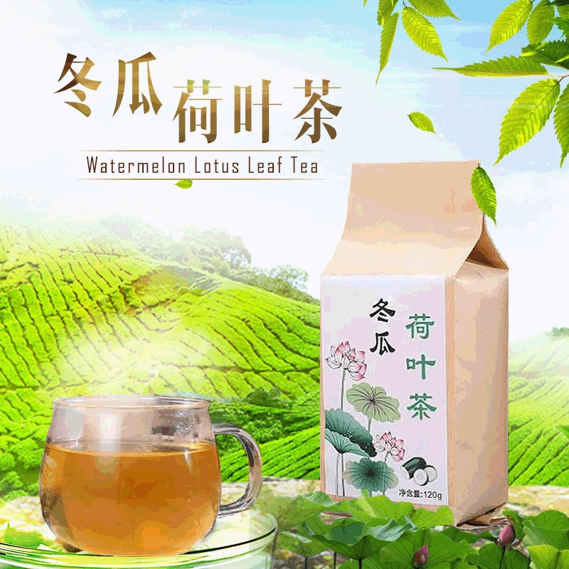 Bolsa de té de melón de hoja de loto para invierno, bolsa de semillas de Casia para melón, té de hierbas de Camelia, combinación de té saludable