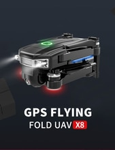 X8 dron drones hd kamera ile drone gps rc helikopter 4K oyuncaklar quadcopter profesyonel drohne quadcopter helicoptero de