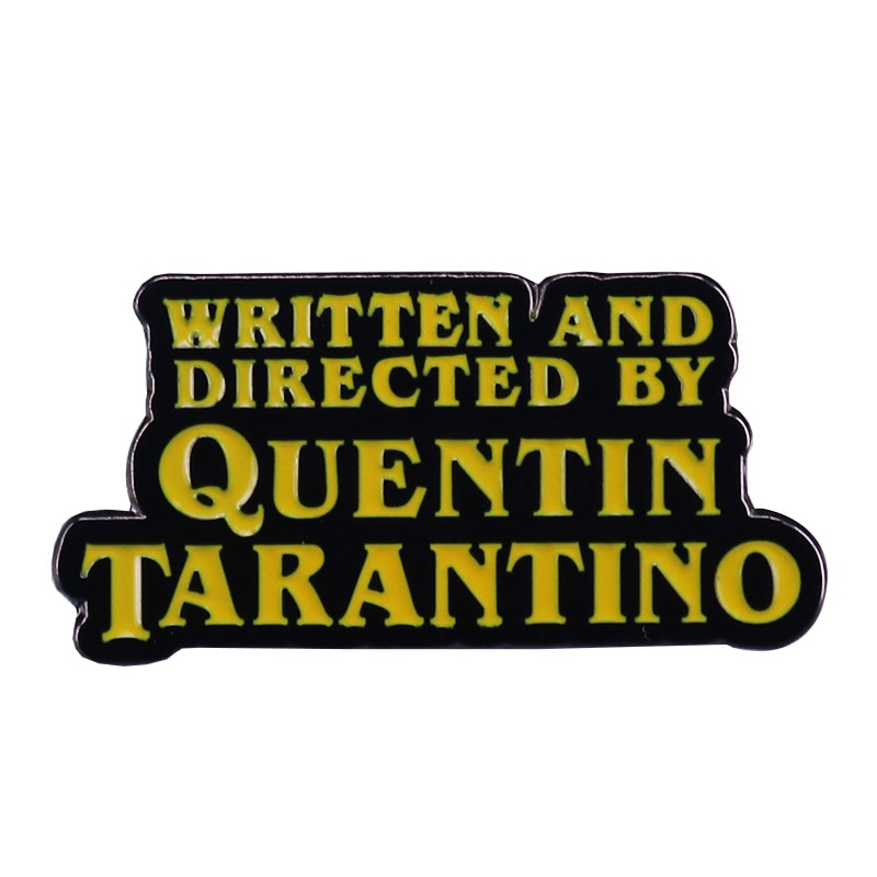 quentin-tarantino-pin-pulp-fiction-kill-bill-iconic-movie-fans-flair-addition