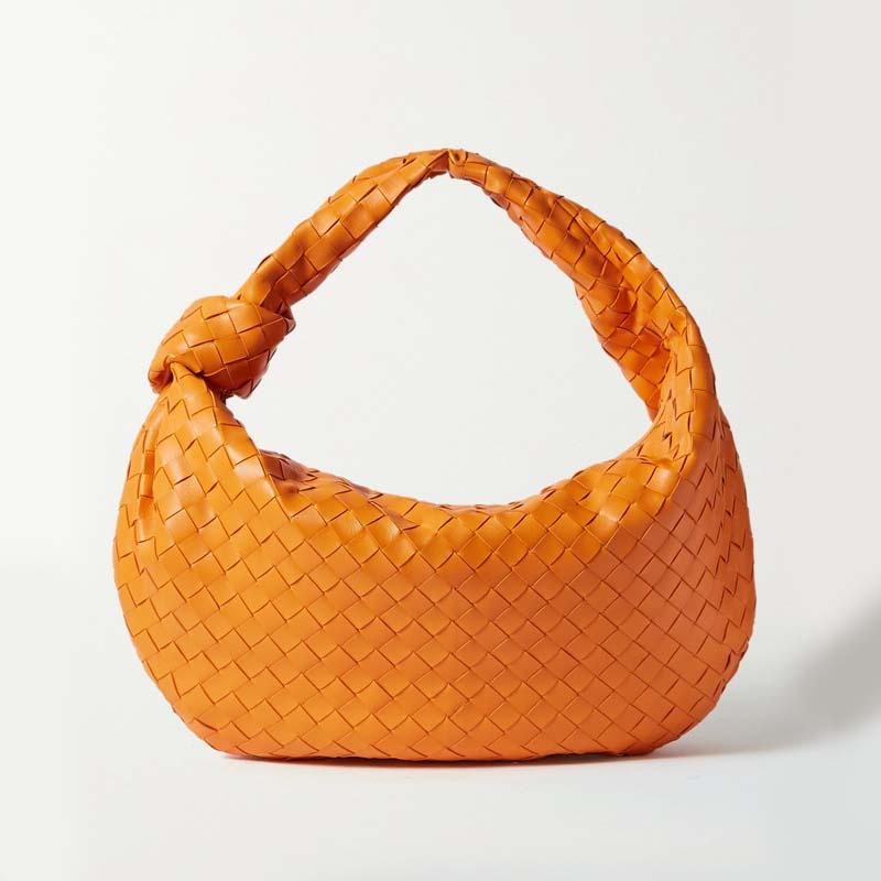 Luxury Zipper Clutch Genuine Leather Bags For Women 2020 New Fashion Shoulder Lady's Bag Designer Handbag Weave Female Handbags