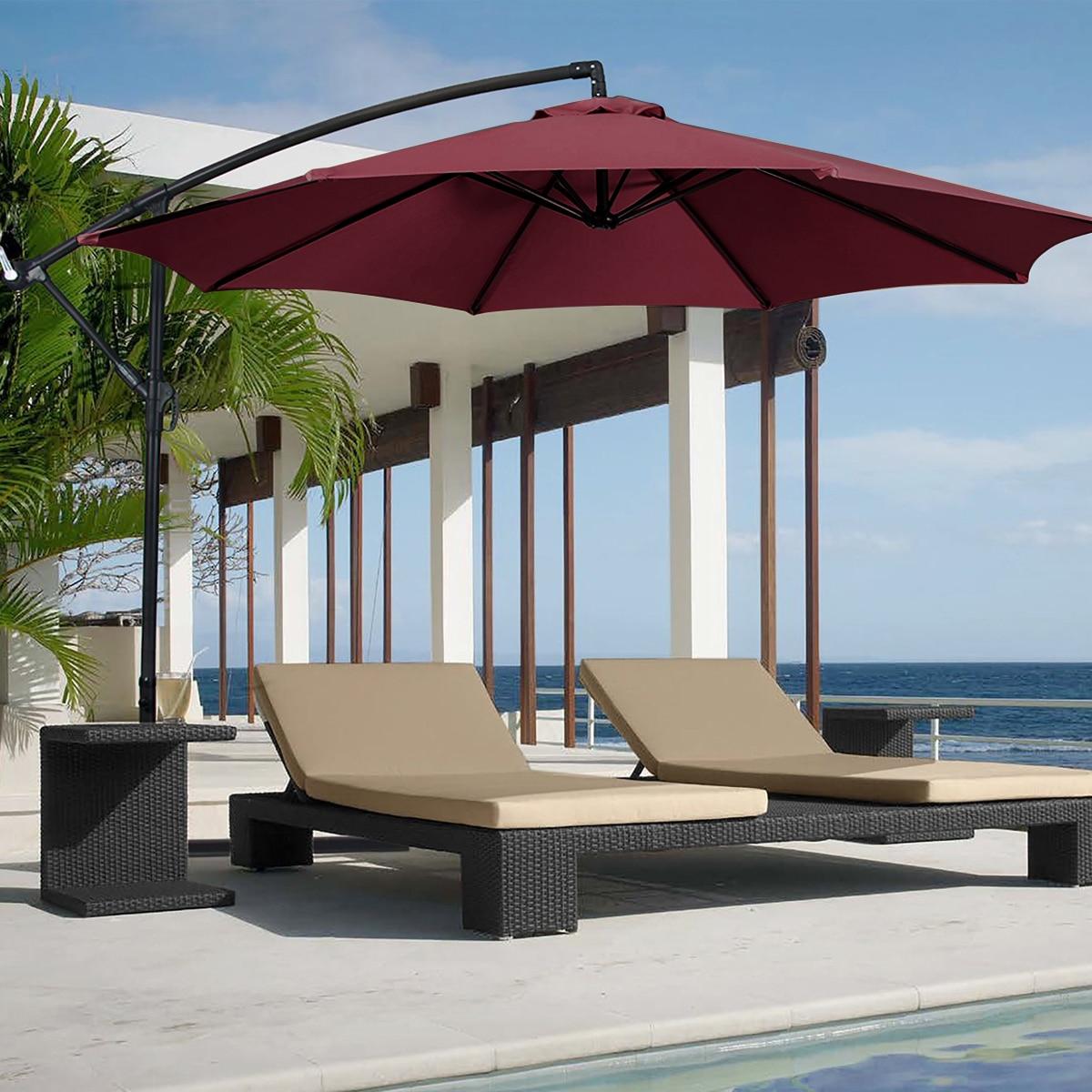 300x300cm Sonnenschirm Regenschirm Abdeckung Wasserdicht Stuhl Zelt Markisen Outdoor Garten Camping Schaukel Baldachin Sun Shelter