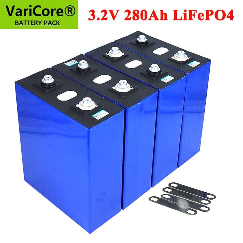 VariCore-بطارية lifepo4 قابلة لإعادة الشحن ، 3.2V ، 280Ah ، 12V ، 24V ، 280AH ، نظام تخزين الطاقة الشمسية ، للسيارة الكهربائية ، RV
