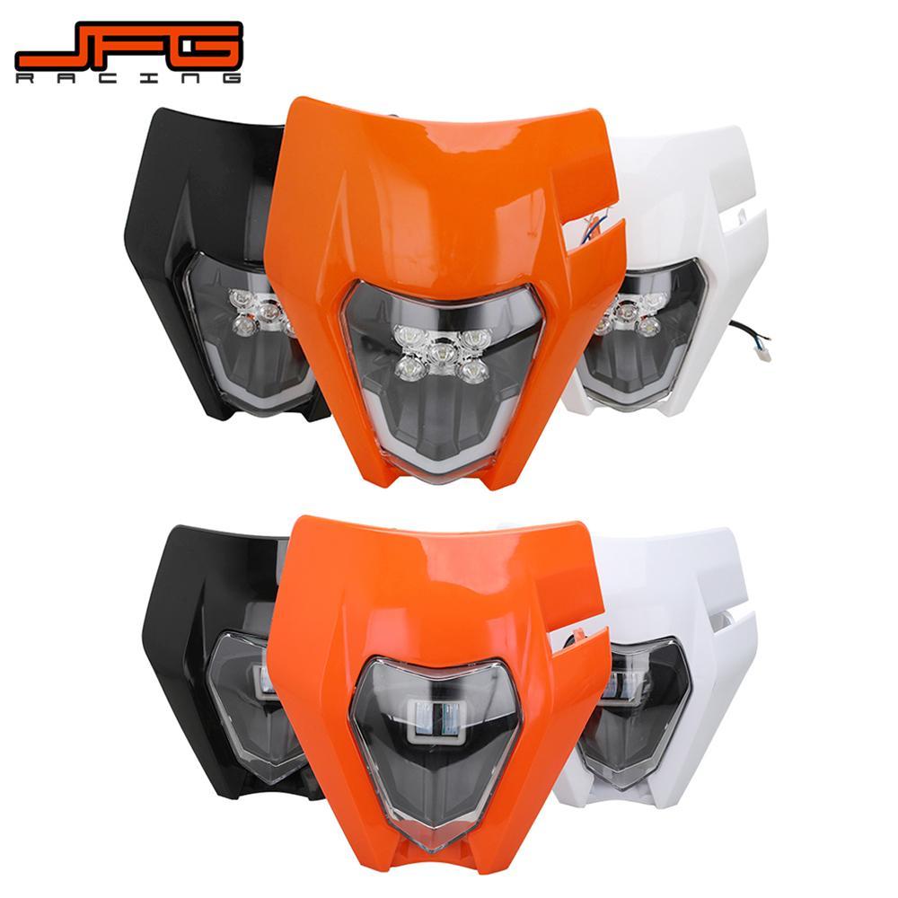 Налобный фонасветильник для мотоцикла, для KTM Husqvarna EXC XCF XCW TE TC FE 125 250 300 350 450 530 SMR, шесть дней