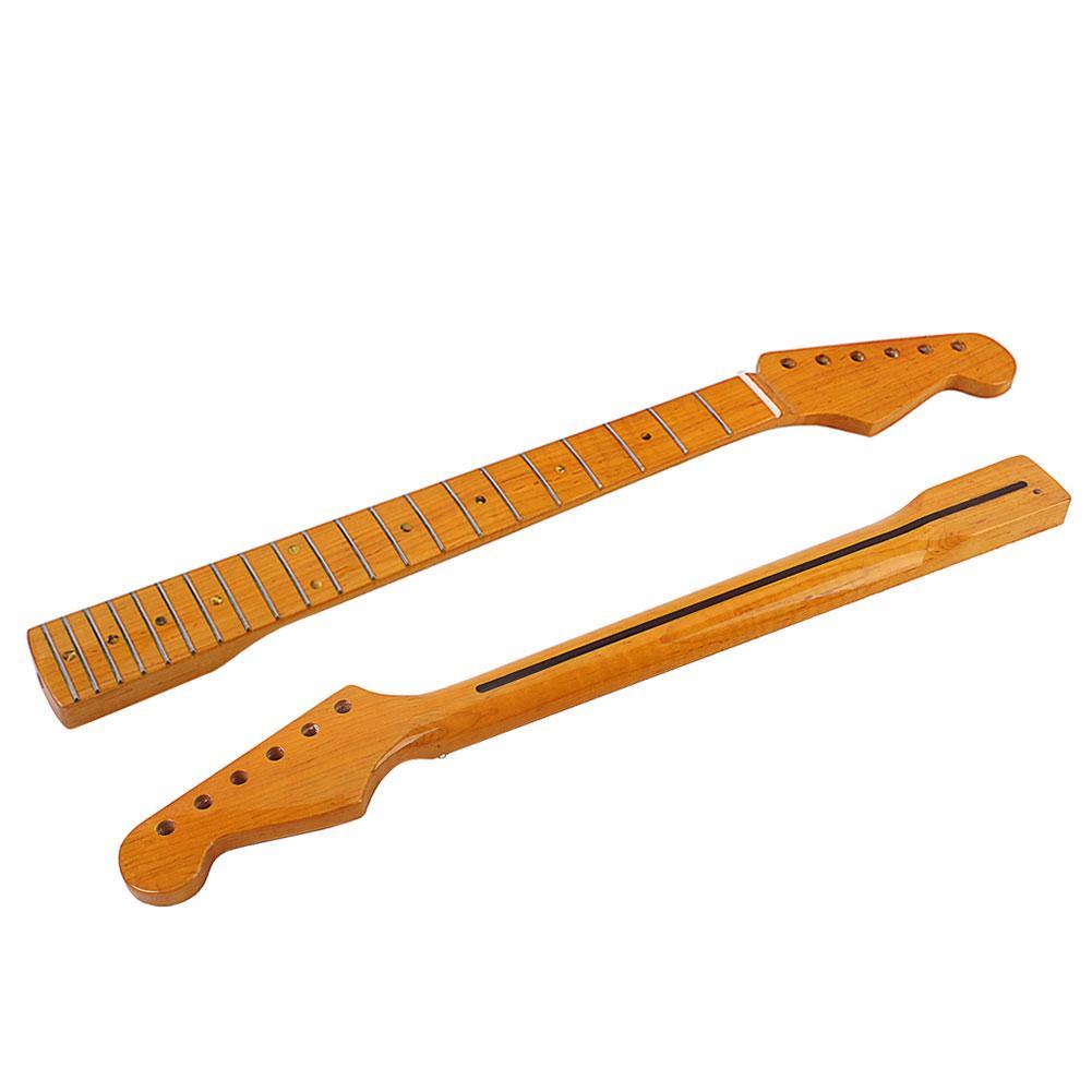 Стильные деревянные запасные части для грифа 21 лад для электрогитары ST