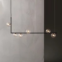 modern iron glass led pendant lights lighting indoor decor pendant lamp dining living room bedroom kitchen fixtures hanging lamp