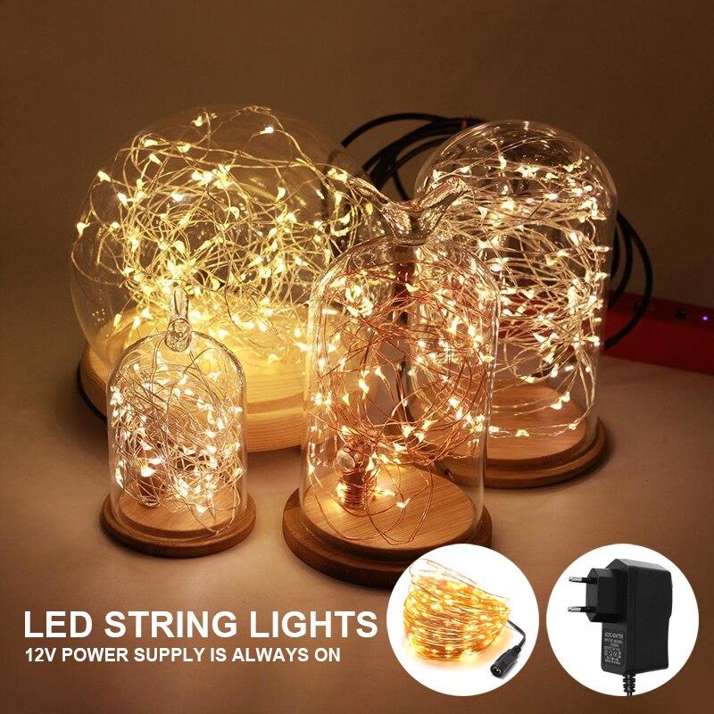 Светодиодная гирлянда, новогодние украшения, праздничный светильник, сказосветильник светильник 2021 s, светильник Личная гирлянда для дерев...