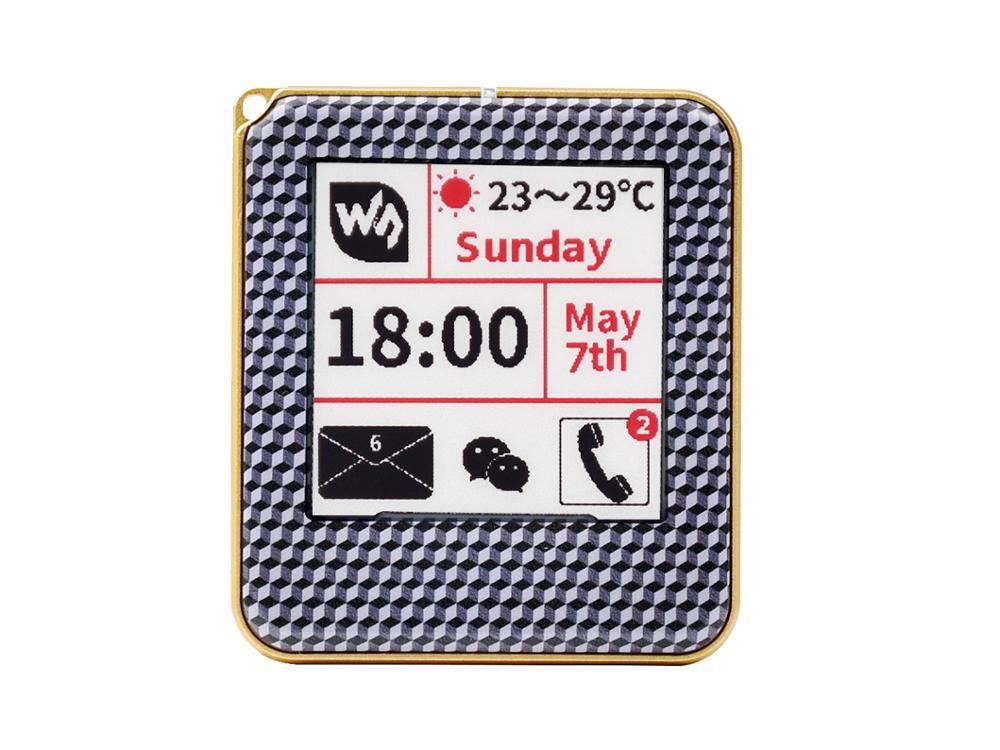 Waveshare 1.54inch NFC-Powered e-Paper, No Battery, Wireless Powering & Data Transfer