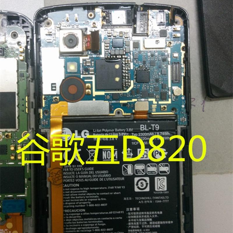 Desbloqueo de placa base de Panel electrónico móvil, circuitos de placa base ROM Global para LG Google Nexus 5 D820 D821 32GB