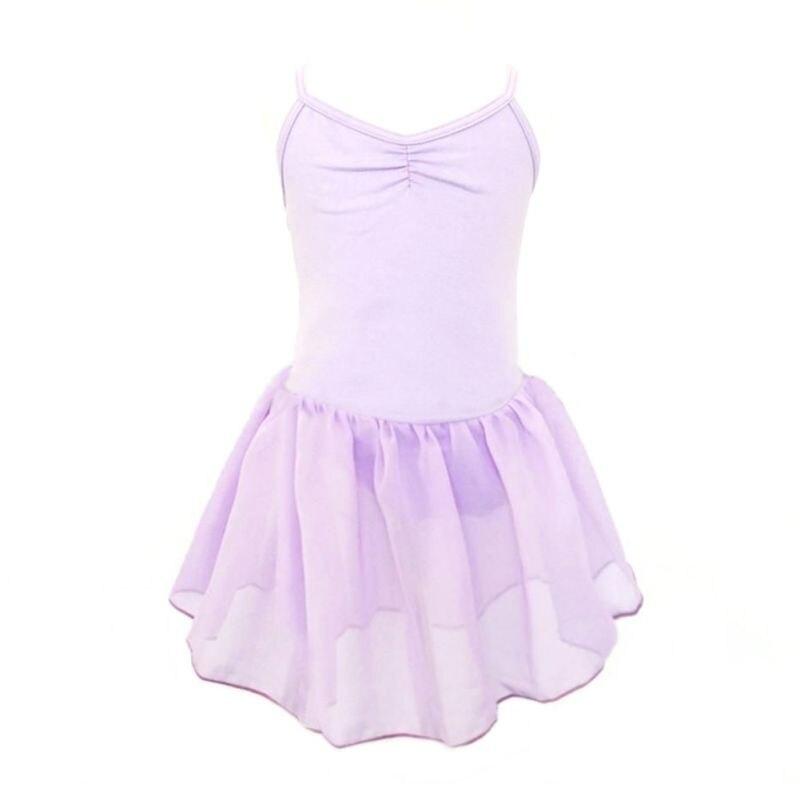 Teen Kids Ballet Dress Sleeveless Girl Gymnastics Leotard Toddler Princess Ballerina Tutu Dress Acrobatics Dancewear