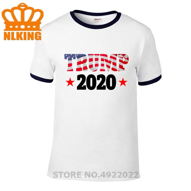 Camiseta Donald Trump presidente de Estados Unidos 2020 Camiseta Anti Joe Biden 2020 Estados Unidos divertida camiseta Casual de algodón estampada de verano para hombre