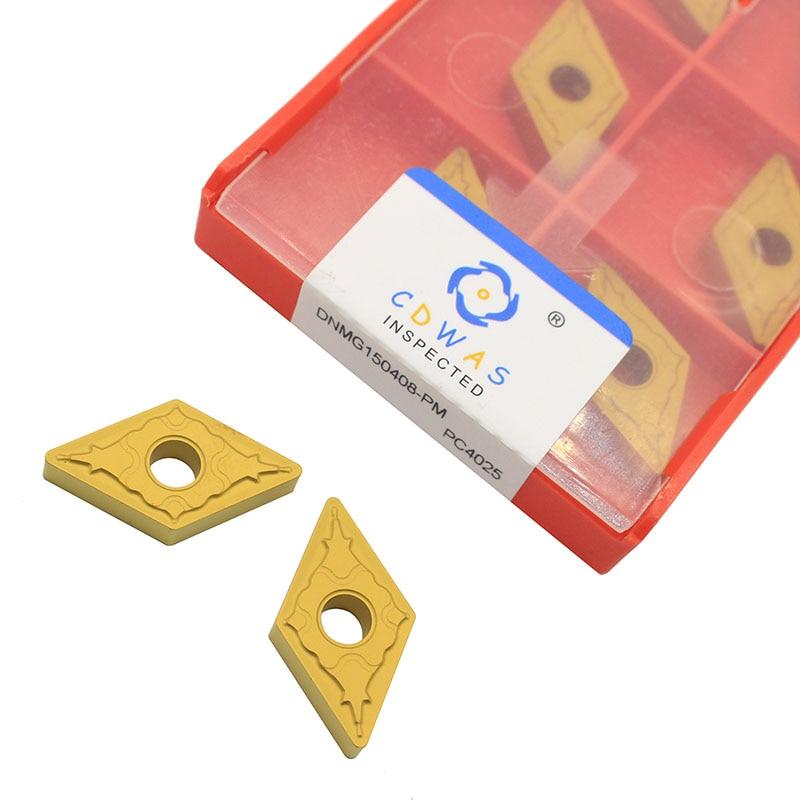 DNMG150408 PM PC4025 شفرة تحول خارجية ، كربيد عالي الجودة ، DNMG 150408 CNC ، أداة قطع المخرطة للصلب الصلب