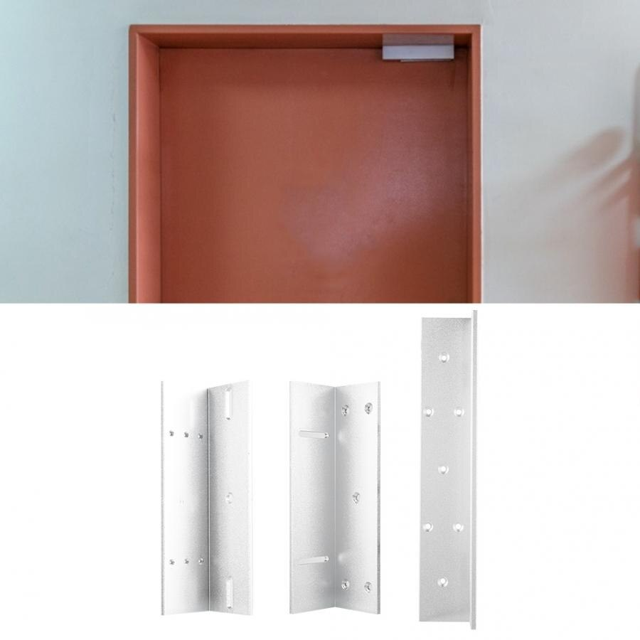 Ограничитель открытия двери, алюминиевый сплав Z L Монтажный кронштейн держатель Подставка для электрического магнитного замка настенные к...