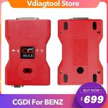 CGDI Prog MB pour Benz voiture clé ajouter le plus rapide pour Benz clé programmeur soutien toutes les clés perdues