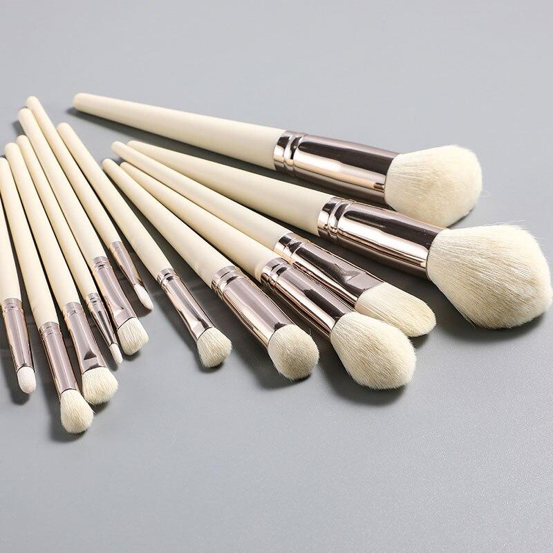 Новые инструменты для макияжа оптом для макияжа для румян, бровей, кистей, теней, губ, подводки для глаз, набор кистей для макияжа
